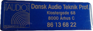 Dansk Audio Teknik Professionel