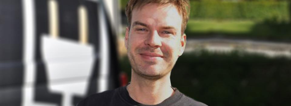 Kevin Brummerstedt Rasmussen, montør, elektriker,  Dansk Audio Teknik Professionel